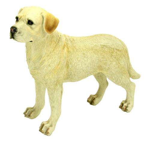 Labrador Retriever, Yellow Statue