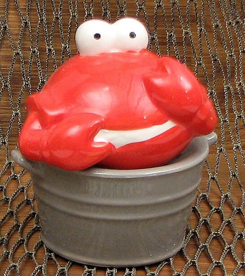 Crab in Bucket Salt & Pepper Shakers
