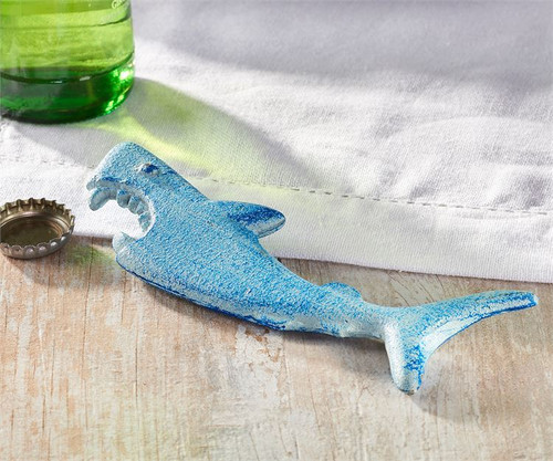 Blue Shark Bottle Opener