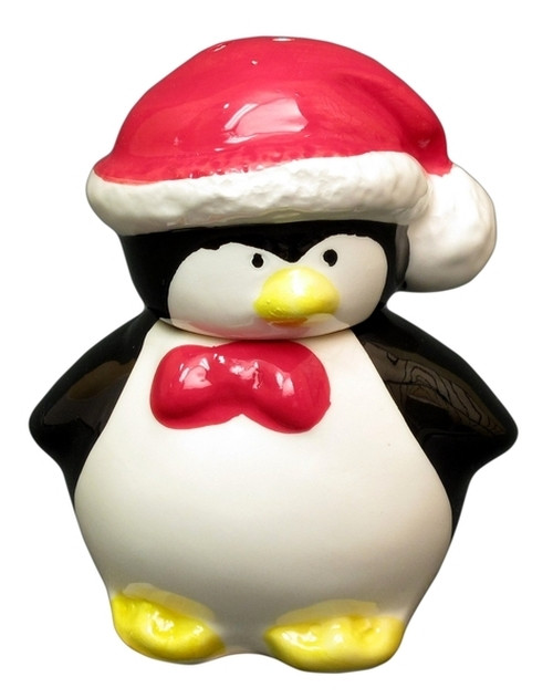 Christmas Penguin Salt & Pepper Shaker Set