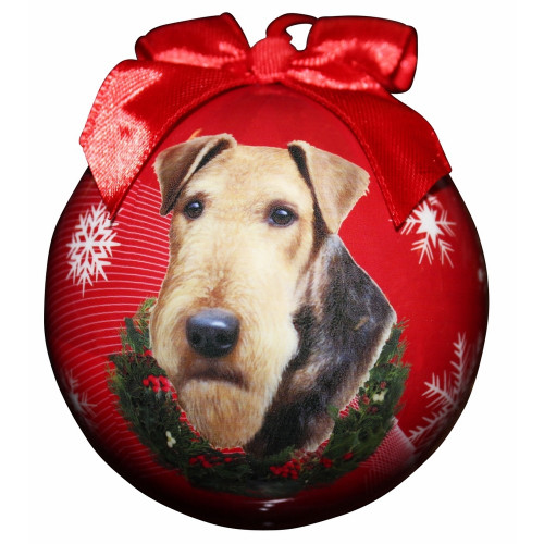 Airedale Ball Ornament