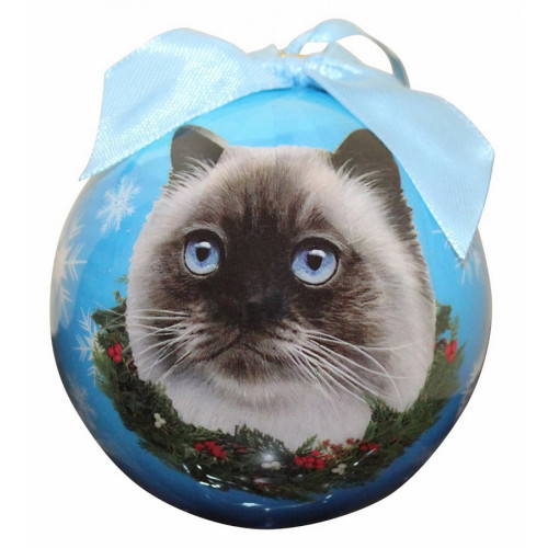 Himilayan Cat Ball Ornament
