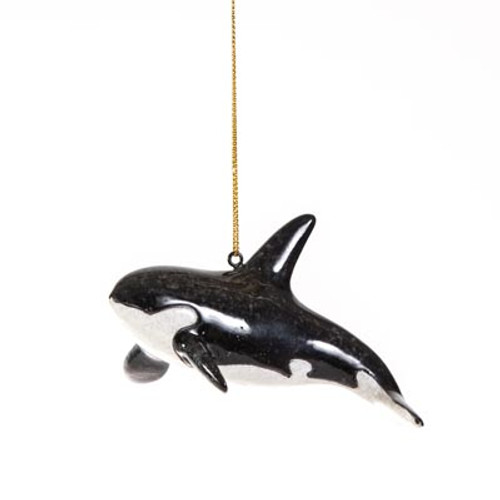 Orca Whale Ornament