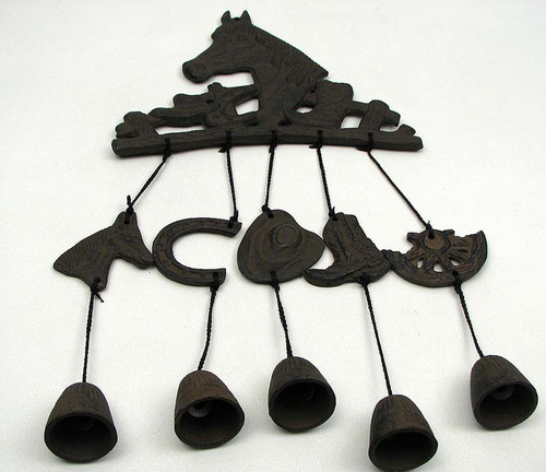 Western Horse Bell Wind Chime
