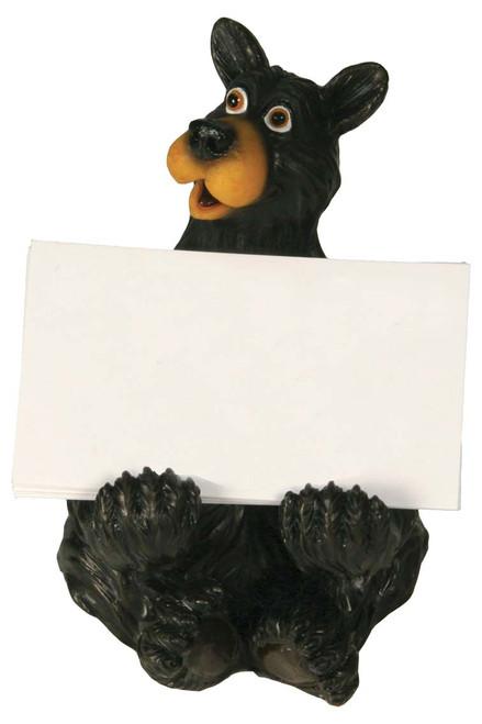 Black Bear Business Card Holder
