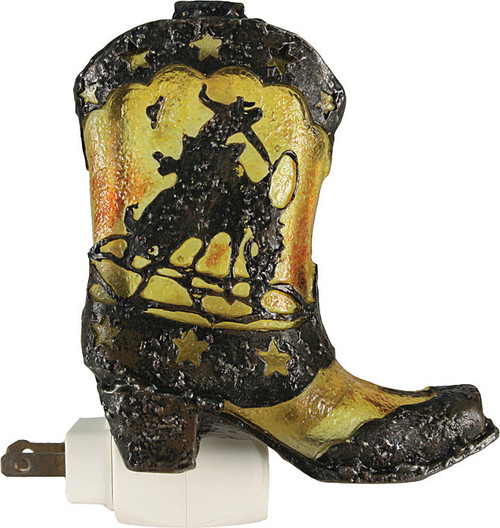 Cowboy Boot Night Light