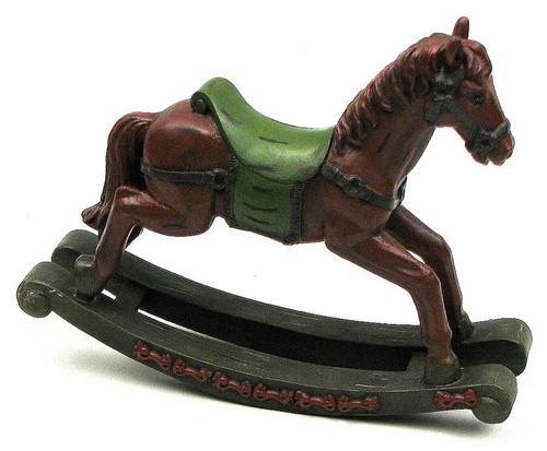 Rocking Horse Figurine