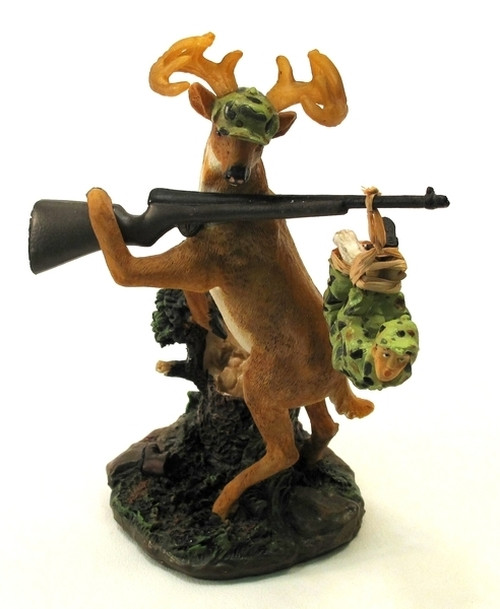 Buck with Man Prize Figurine