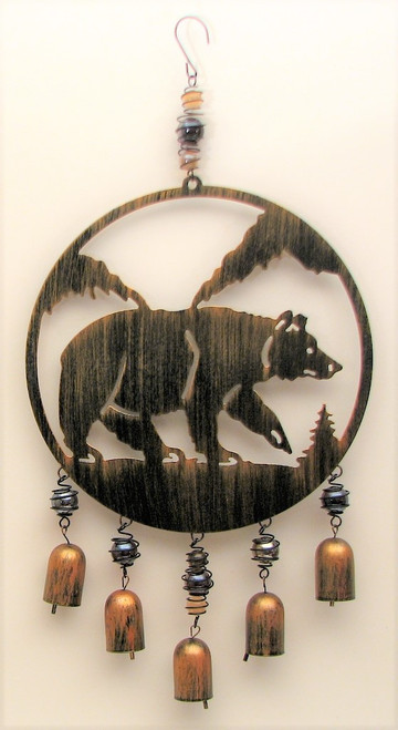 Black Bear Wind Chime