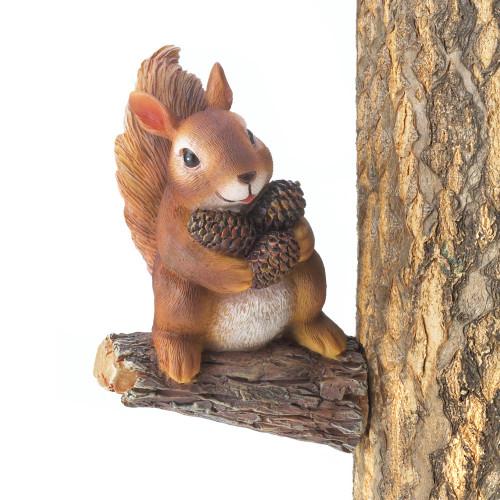 Gathering Squirrel Tree Decor