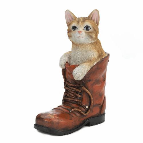 Cat in Boot Figurine