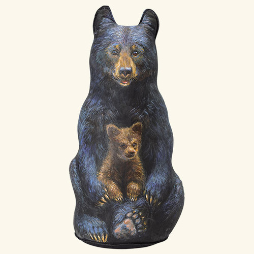 Black Bear Door Stop