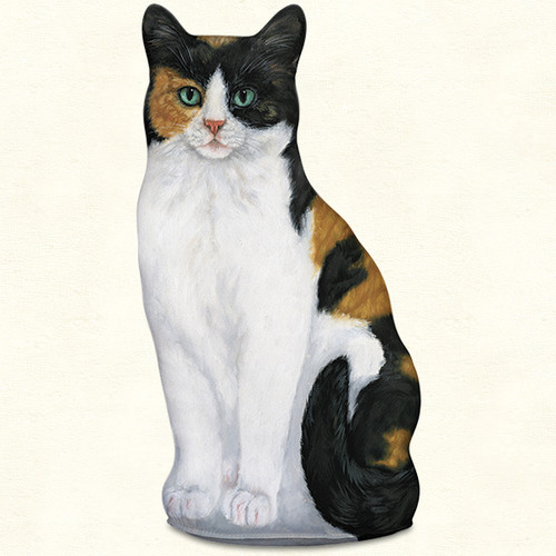 Calico Cat Door Stop