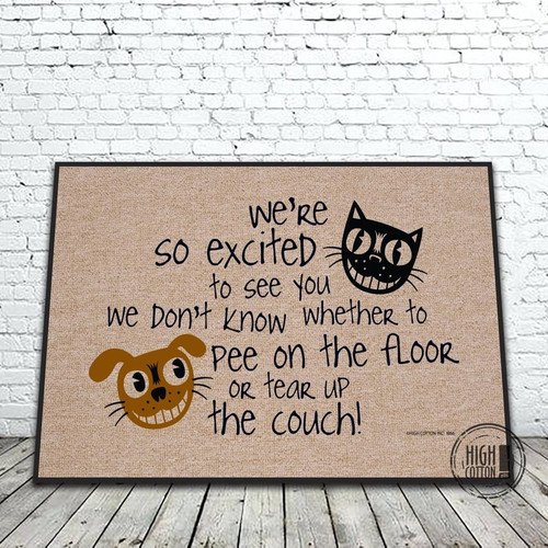 Excited to See You - Doormat