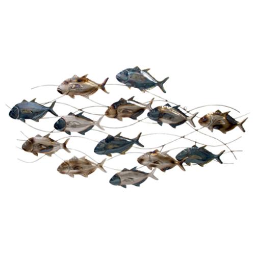 School of Fish Wall Sculpture