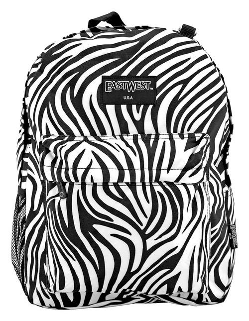 Zebra Stripe Backpack