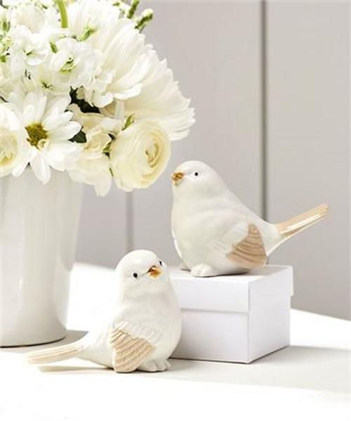 Ceramic Songbird Figurines