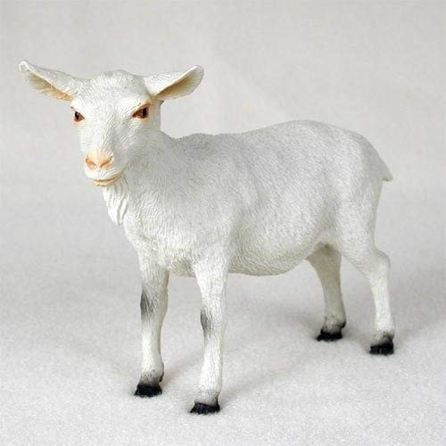 Goat, White Figurine
