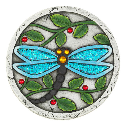 Blue Dragonfly Stepping Stone