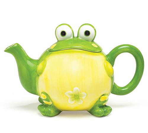 Frog Shaped Teapot
