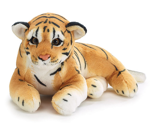 Tiger Cub Lying Down Plush Toy