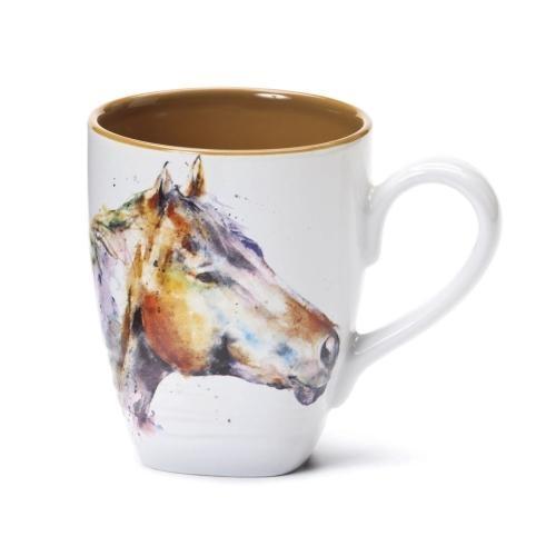 Watercolor Horse Head Mug