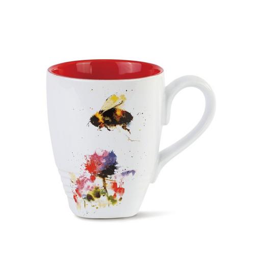 Watercolor Bumble Bee Mug