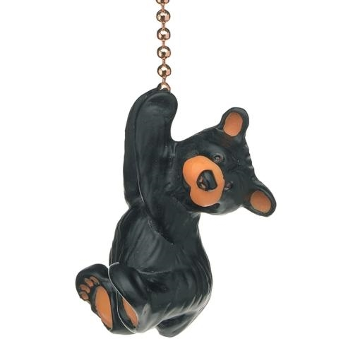 Black Bear Chain Pull