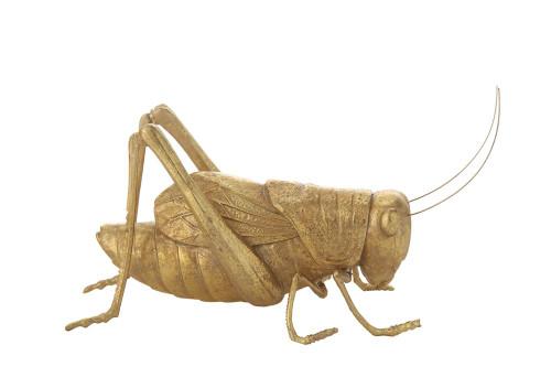 Gold Cricket Figurine