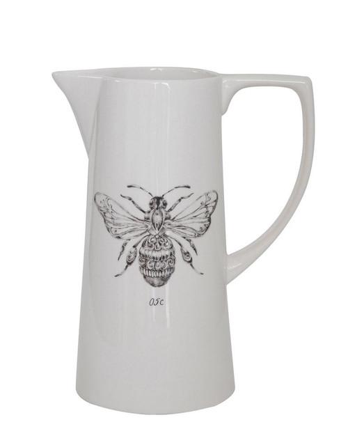 Bee Ceramic Pitcher