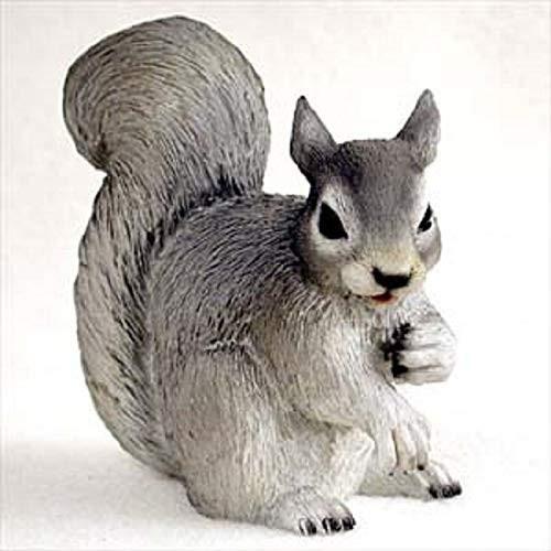 Squirrel, Gray Figurine