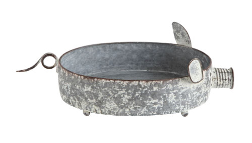 Metal Pig Container