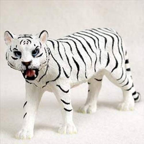 Tiger, White Figurine