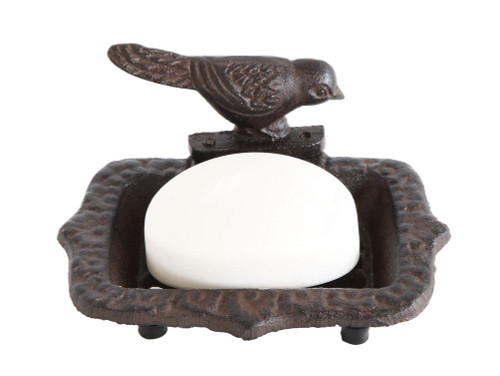 Cast Iron Bird Soap Dish