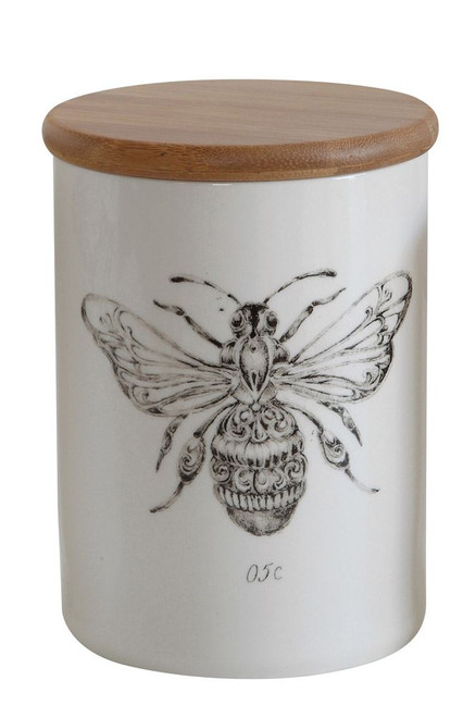 Bee Ceramic Canister