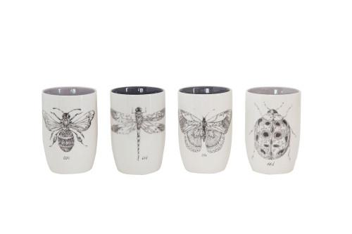 Insect Design Tumbler Set