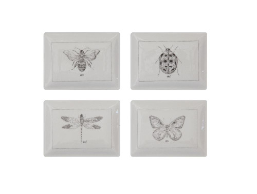 Insect Design Snack Plate Set