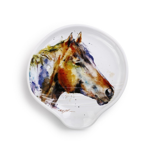 Watercolor Horse Spoon Rest