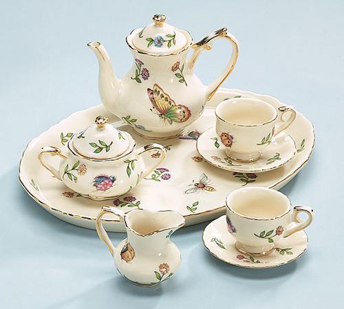 Mini Insect Design Tea Set