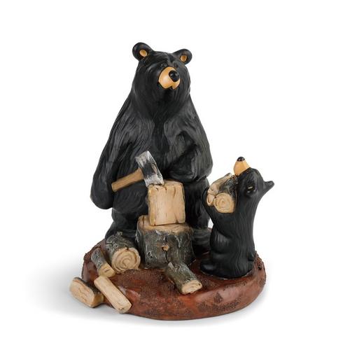 Papa Bear's Helper Figurine