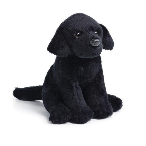 Black Lab Plush Beanbag Toy