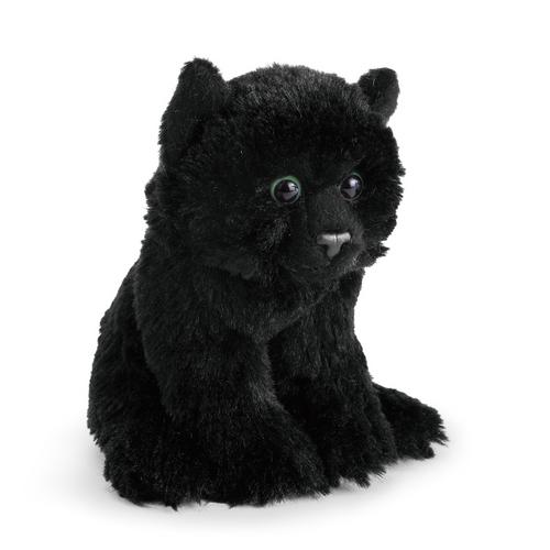 Black Cat Plush Beanbag Toy