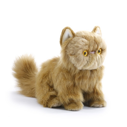 Persian, Red Cat Plush Toy