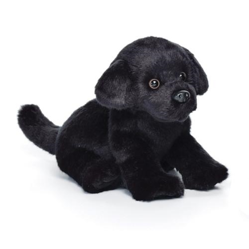 Black Lab Plush Toy