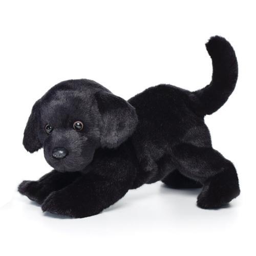 Black Lab Plush Toy, Large