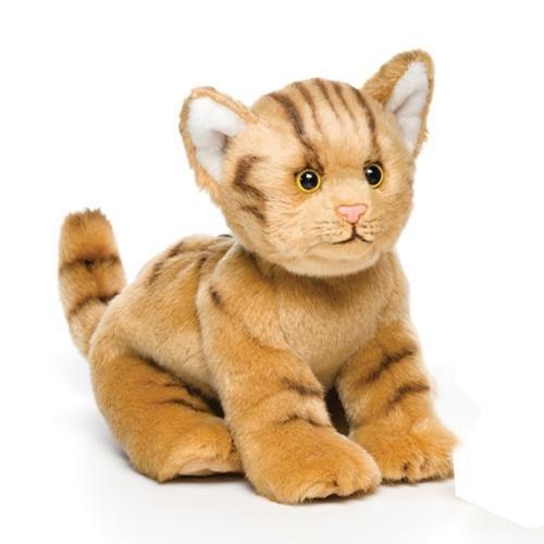 Orange Tabby Cat Plush Toy