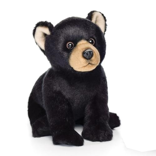 Black Bear Plush Toy, Small