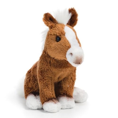 Brown Horse Plush Beanbag Toy