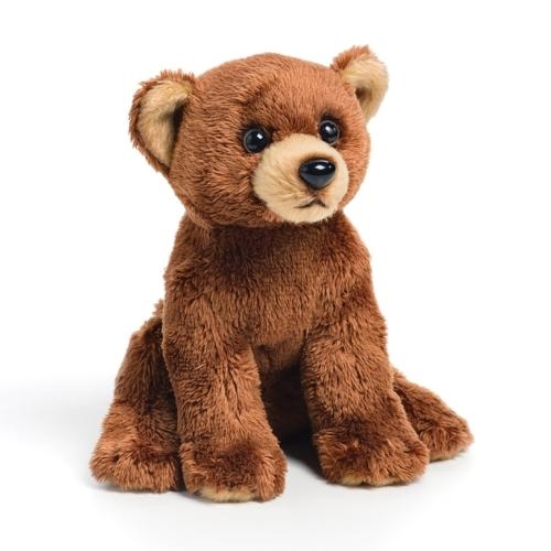 Grizzly Bear Plush Beanbag Toy