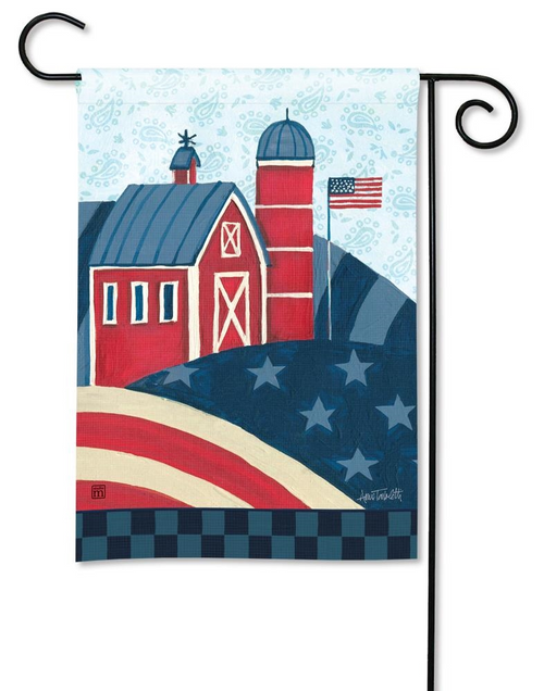 American Barn Garden Flag